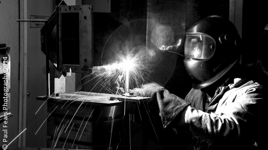 Welding at Bunting Magnetics Europe-5