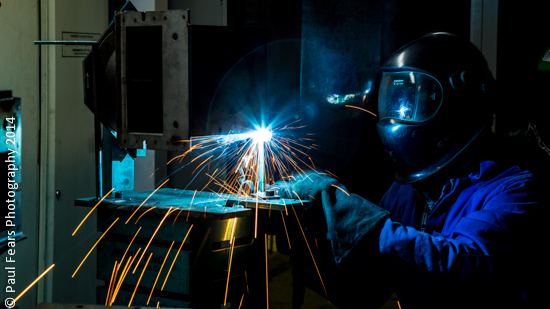 Welding at Bunting Magnetics Europe-4