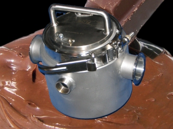 Liquid Chocolate Magnetic Trap