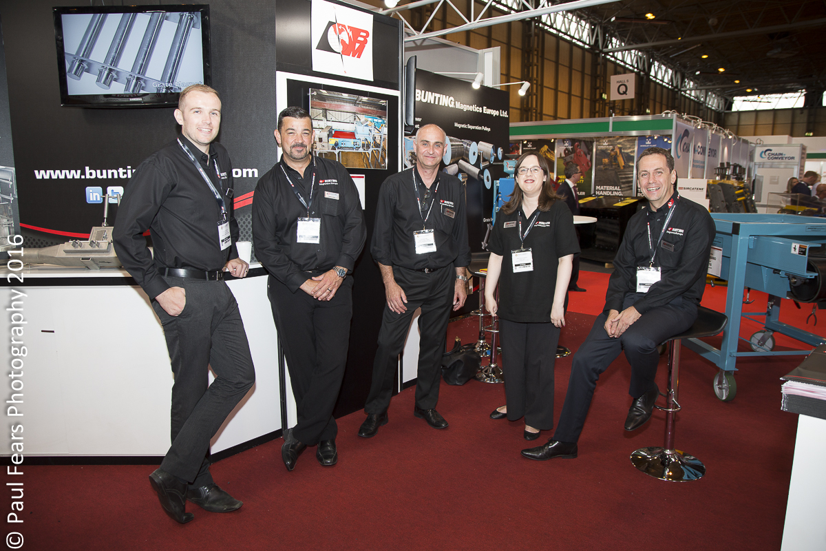 Bunting Magnetics Europe at RWM16