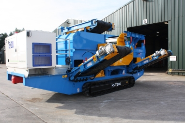 Master Magnets Mobile Eddy Current Separator (1200)