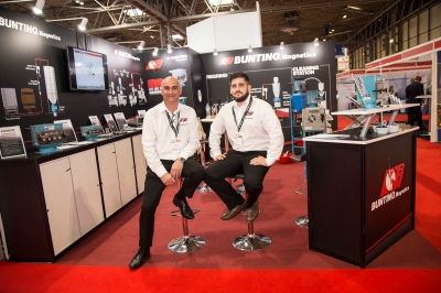 Bunting Magnetics Europe at Interplas 2017