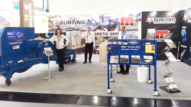 Bunting Master Magnets IFAT 2018